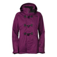 Women's North Face Premiere Purple Ginger Deluxe Jacket M New $349