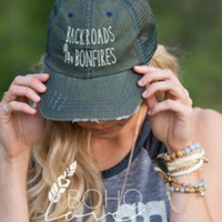 Backroads & Bonfires Trucker Hat