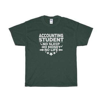 Accounting Student T-shirt College Majors Degree Funny Accountant Student Shirt