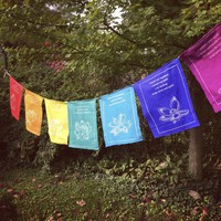 Tibetan Healing Prayer Flags Roll