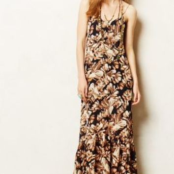 Chora Maxi Dress by Anthropologie Navy