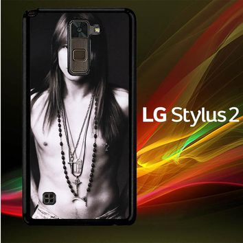 Axl Rose Guns and Roses wallpaper Y0566 LG Stylus 2 | LG Stylo 2 Case