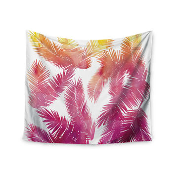 "Draper ""Tropic Love"" Pink Abstract Wall Tapestry"