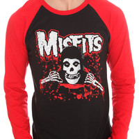 The Misfits Bloody Baseball T-Shirt 2XL | Hot Topic
