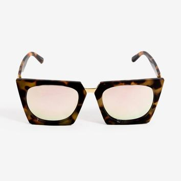 On My Mind Boxy Sunglasses