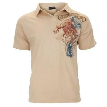 Grateful Dead - First Album Adult Polo T-Shirt