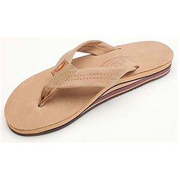 053312a44 Women s Premier Leather Double Layer Arch Sandal in Sierra Brown
