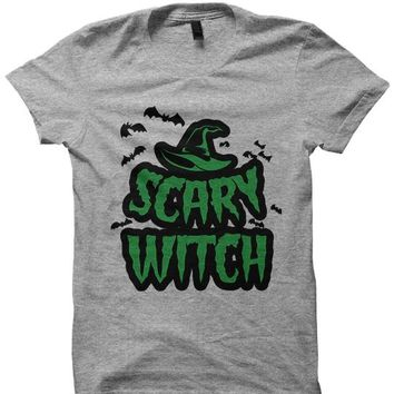 HALLOWEEN T-Shirt - SCARY WITCH