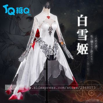 SINoALICE Snow White Gothic Lolita Cosplay Dress Wedding dress