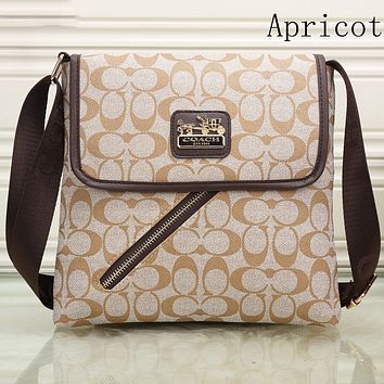 Coach women trendy fashion bags F-KSPJ-BBDL Apricot