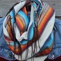 Softer Desert Serape Scarf by BootRug