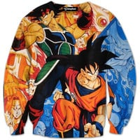DBZ Father and Son Crewneck
