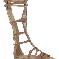 Tall Brown Gladiator Sandals (final sale)