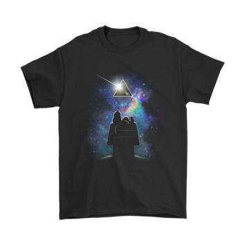 KUYOU Is There Anybody Out There Pink Floyd Snoopy Shirts