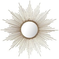 Petite Gold Burst Wall Decor
