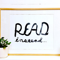 Read Instead Print : BOOK/SHOP