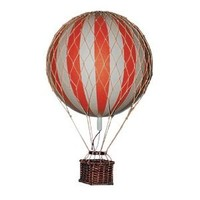 Authentic Models Floating the Skies Hot Air Balloon Replica, Color: Red