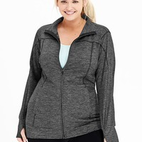 Old Navy Womens Plus Go Dry Tunic Jackets