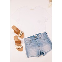 Perfect Tee, White | RD Style