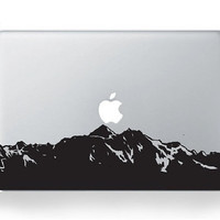 Mountain --- Mac Decal Macbook Decals Macbook Stickers Vinyl decal for Apple Macbook Pro/Air iPad