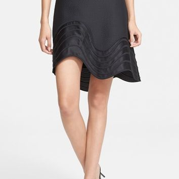 Women's 3.1 Phillip Lim Embroidered Detail A-Line Skirt