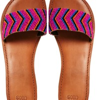 ASOS FLAMINGO Sliders - Multi