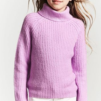 Girls Turtleneck Sweater (Kids)