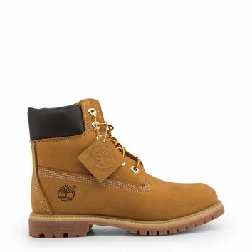 Timberland  Women Brown Ankle boots - Af-6In-Prem-Yellow