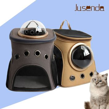 Fashion Travel Accessory Feather Space Capsule Transport Cat Bag for Small Cat  - Carrier Crate Cage