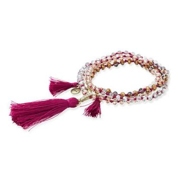 Tassel Convertible Necklace + Bracelet by Chloe + Isabel