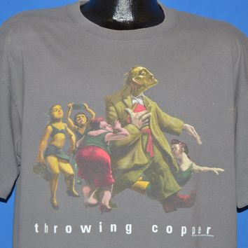 90s Live Throwing Copper 1995 Tour t-shirt Extra Large