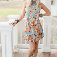 Floral Winds Tunic Dress