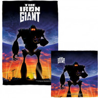 Iron Giant Poster COMBO Towel - Blankets, Sheets & Towels - Home Décor - Rockabilia