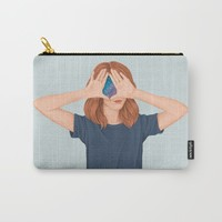 I See Stars Carry-All Pouch by marylobs