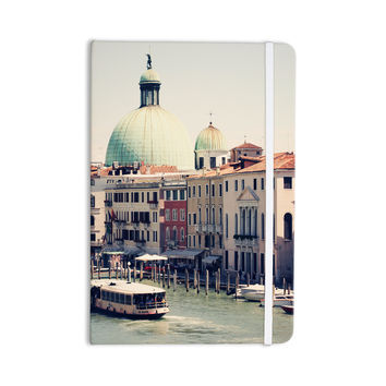"Sylvia Coomes ""Venice 3"" Blue Multicolor Everything Notebook"