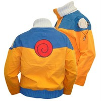 Naruto - Spiral Mp3 Pocket High Neck Jacket