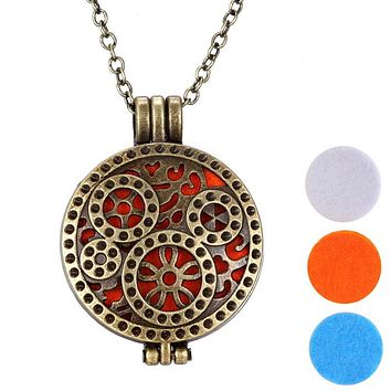 Fashion Personality Aromatherapy Diffuser Necklace