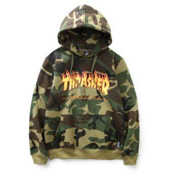 THRASHER Camoflage Hooded Sweatshirt