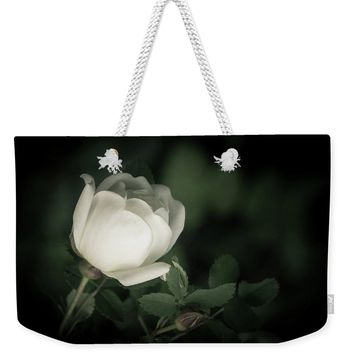 White Flower Of A Dogrose Weekender Tote Bag