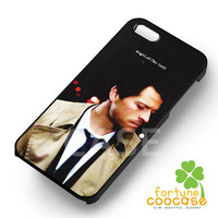 Supernatural Castiel angel of the lord -snnh for iPhone 4/4S/5/5S/5C/6/ 6+,samsung S3/S4/S5/S6 Regular/S6 Edge,samsung note 3/4