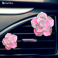 2Pc car air outlet perfume 2017 Hot Aromatherapy air freshner auto supplies vents car perfume High-end Car Vent Clips Automotive