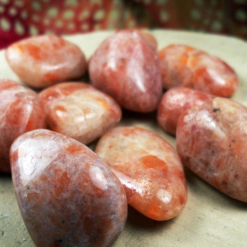 SUNSTONE Heliolite - Encourages Independence, Self-Expression, Romance & Joy - Solstice Ceremonies - Represents Helios The Sun God