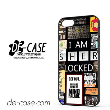 Sherlock Holmes Wallpaper Bbc DEAL-9564 Apple Phonecase Cover For Iphone 5 / Iphone 5S