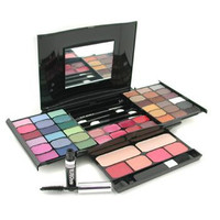 - MakeUp Kit G2327 (2x Powder, 36x Eyeshadows, 4x Blusher, 1xMascara, 1xEye Pencil, 8x Lip Gloss, 4x Applicators)