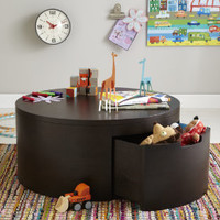 You Say Coffee, I Say Play Table in Toy Boxes & Storage | The Land of Nod