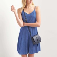 Fit and flare cami dress   Gap