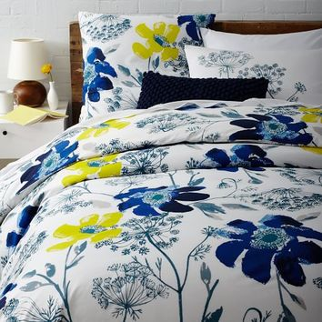 Wild Poppy Duvet Cover + Shams