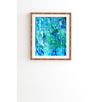 Rosie Brown Blue Grotto Framed Wall Art