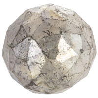 Antique Silver Faceted Glass Knob | Hobby Lobby