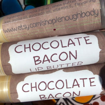 Chocolate Bacon Lip Butter ~ Lip Balm